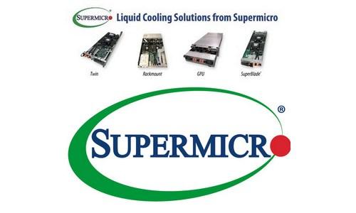 Supermicro разработала системы жидкостного охлаждения для высокопроизводительных ЦОДов