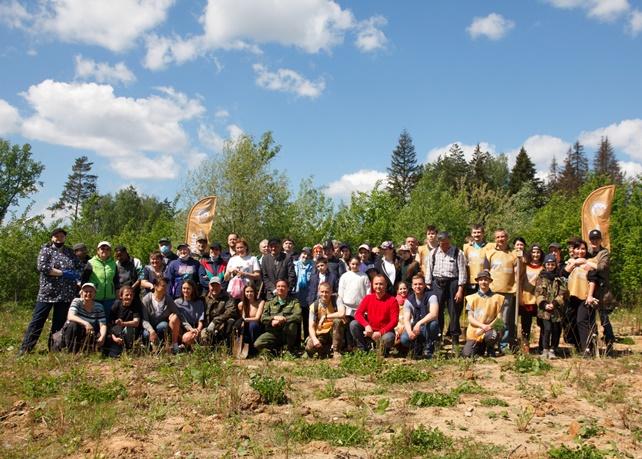 Фонд «Мир к лучшему» принял участие в эколого-патриотической акции «Лес Победы»