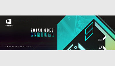 На виртуальной выставке COMPUTEX 2021 стенд откроет компания ZOTAC