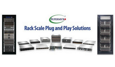 Supermicro представила на Computex Taipei стоечные решения Plug-n-Play