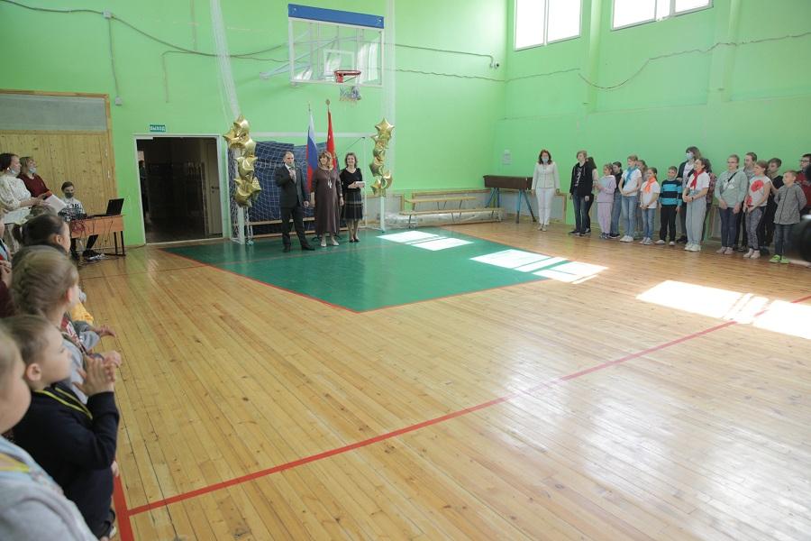 Михаил Романов принял участие в торжественной церемонии открытия летнего лагеря «Улыбка» в Невском районе
