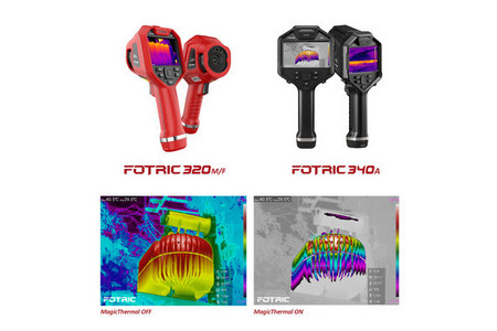 Fotric объявил о выпуске портативных тепловизионных камер 320M/F и 340A