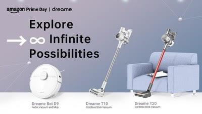 В рамках акции Amazon Prime Day 2021 скидки и купоны предлагает Dreame Technology