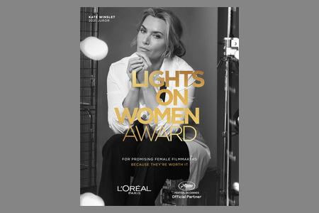 Специальную кинопремию для женщин в кинематографе учредил L'Oreal Paris