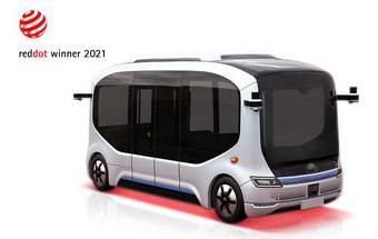 Автономный автобус Yutong Xiaoyu 2.0 удостоен премии Red Dot Award 2021
