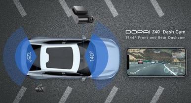 Новый видеорегистратор Z40 анонсировала DDPAI
