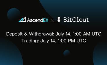 BitClout зарегистрирован на криптовалютной платформе AscendEX