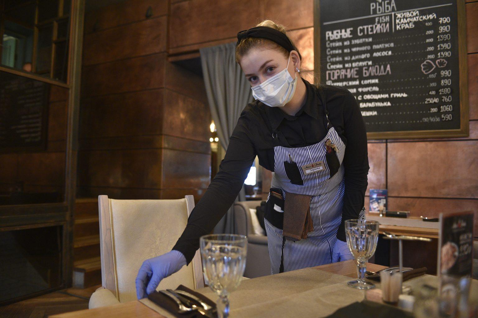 Рестораторы Москвы запускают акции после отмены QR-кодов