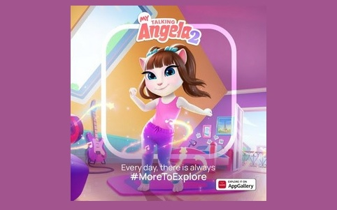 Игра My Talking Angela 2 появилась в AppGallery