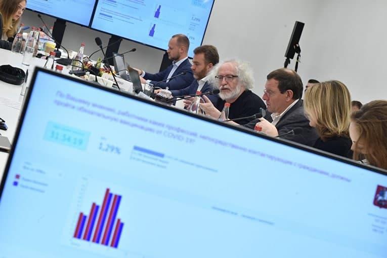 На тестовых онлайн-выборах в Москве за сутки проголосовало 123 тыс. человек