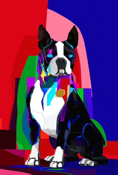 В рамках аукциона на платформе Rarible за $27 тысяч продана NFT-картина Pixel Crypto dog