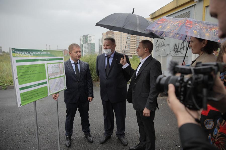 Михаил Романов: «Золоотвал на Дальневосточном проспекте должен быть ликвидирован без опозданий по графику»