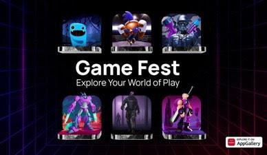 В результате проведения Game Fest выросло количество скачивания игр на AppGallery