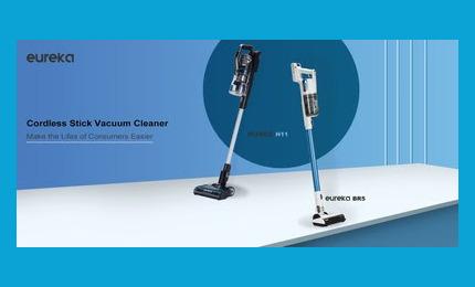 В Европе поступили в продажу беспроводные вертикальные пылесосы Eureka H11 и BR5