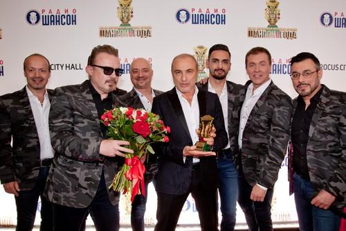 На премии «Шансон года» стоя слушали Хор Турецкого с песней на слова Гуцериева