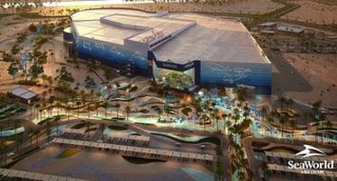 На острове Яс в ОАЭ в 2022 году откроется крупнейший в мире аквариум SeaWorld® Abu Dhabi