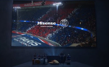 В качестве официального партнера Hisense продолжает сотрудничество с ПСЖ