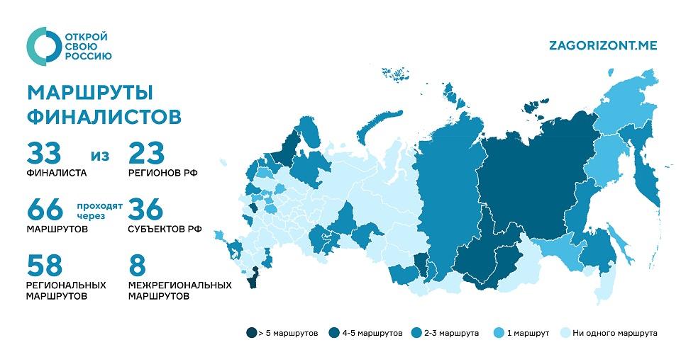 Финалистом конкурса «Открой свою Россию» стал амбициозный проект команды Игоря Сюча
