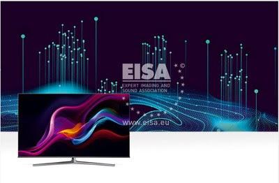 ULED-телевизор Hisense 65U8GQ удостоен премии EISA