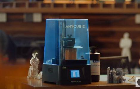 Дебют 3D-принтера Photon Ultra с технологией DLP от Anycubic состоялся на Kickstarter