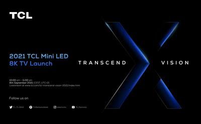Последними новостями о телевизорах Mini LED 8K серии X поделится TCL