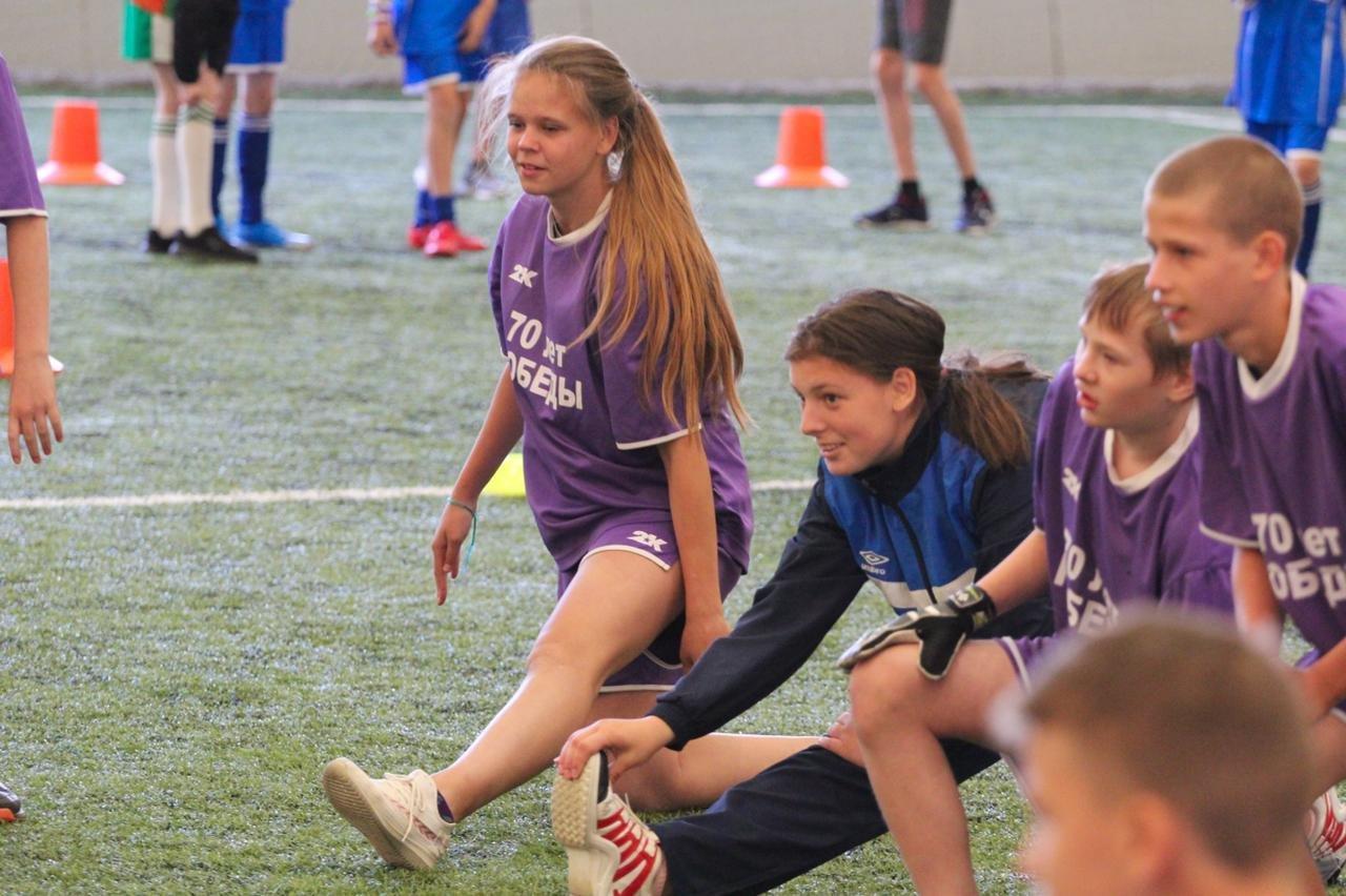 Для детей с ОВЗ состоялся спортивный праздник «Футбол – школа жизни»