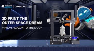 Creality принимает участие в проекте Space Robotics Project