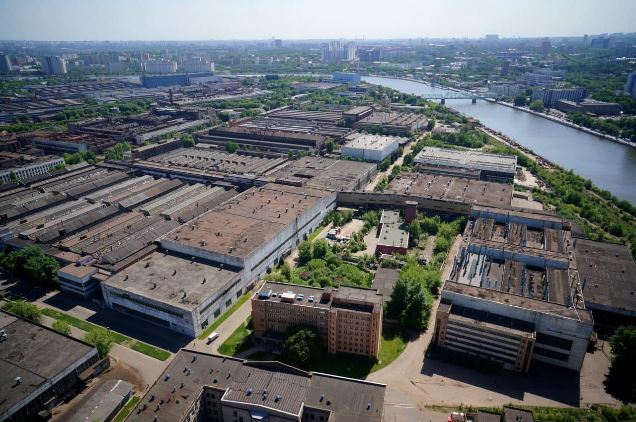 Промзоны Москвы массово застроят жилыми и коммерческими объектами