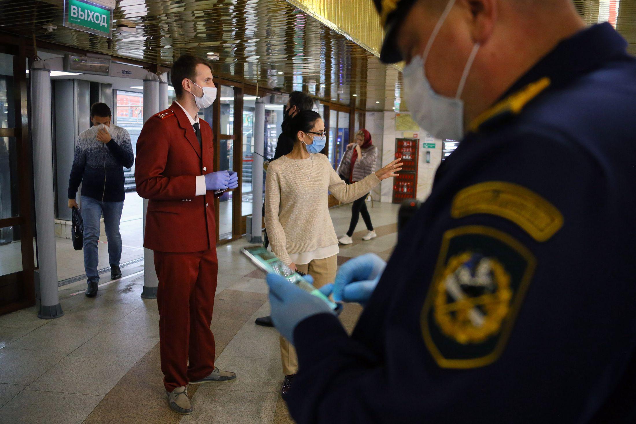 Москва ужесточает контроль над соблюдением антиковидных мер