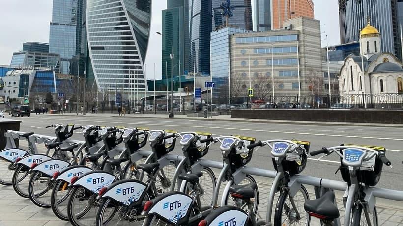 Сезон велопроката в Москве продлили до 1 декабря