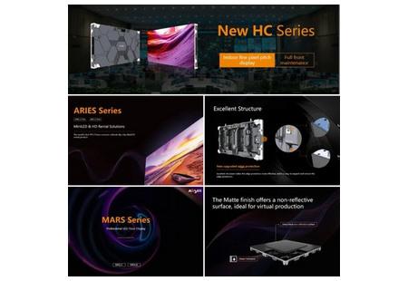На презентации продукции Absen дебютировала серия дисплеев Micro LED Clear Cobalt