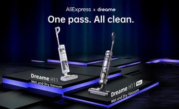 Dreame Technology выводит в продажу новые пылесосы для сухой и влажной уборки