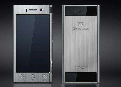 Gresso Radical Black – смартфон класса «люкс» с двумя SIM-картами