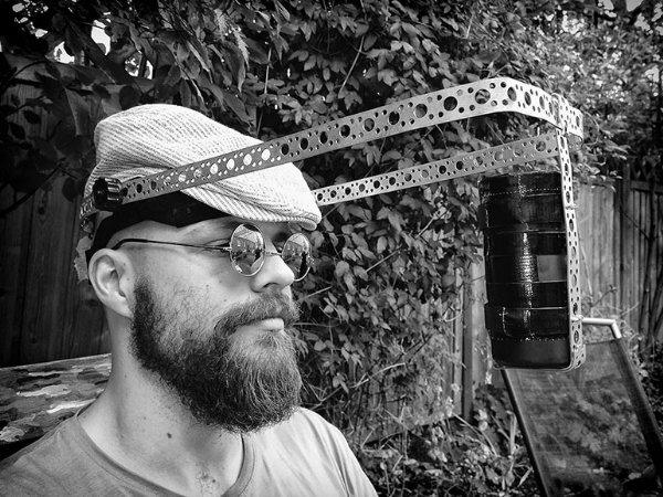 Новый способ создавать селфи от шведского фотографа