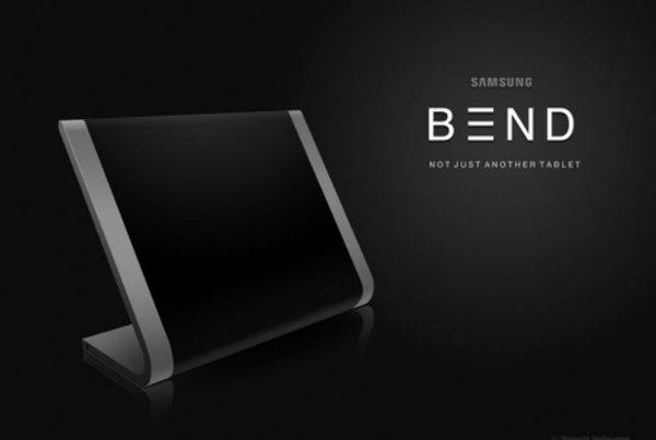 Samsung Bend – очень гибкий планшет от дизайнера Robrecht Vanhauwere