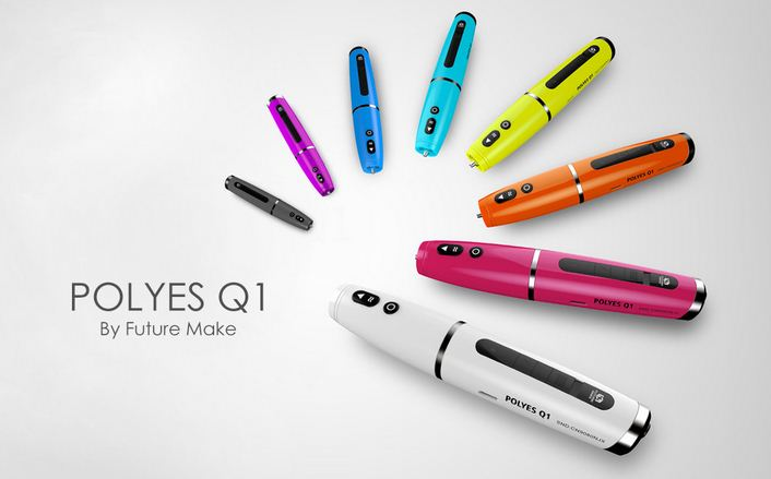 Компактнее и удобнее, чем 3D-принтер: ручка Polyes Q1