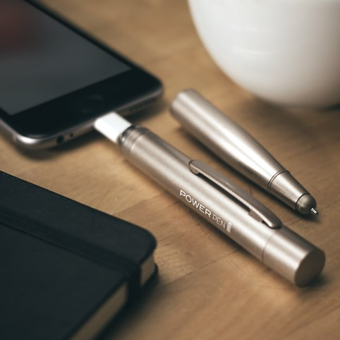 The Power Pen – ручка для смартфона со встроенным аккумулятором