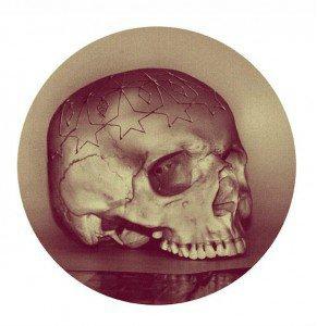 Британский художник использует в 3D печати череп своего отца