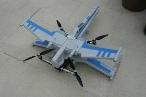 Фанат Star Wars создал беспилотник Incom T-70 X-Wing