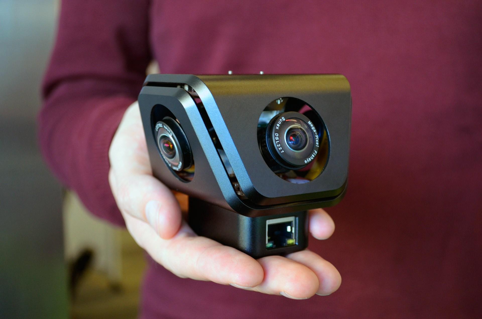 Новая 360-градусная камера VideoStich Orah 4i