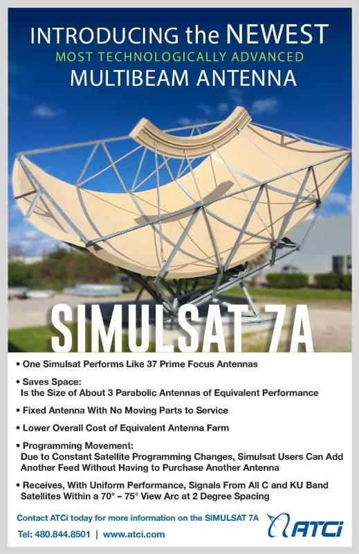 ATCi представила Simulsat 7A на IBC 2016