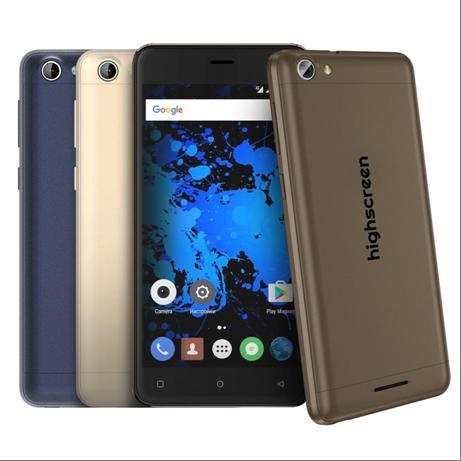Компания Highscreen сообщила о старте продаж смартфона Power Rage EVO