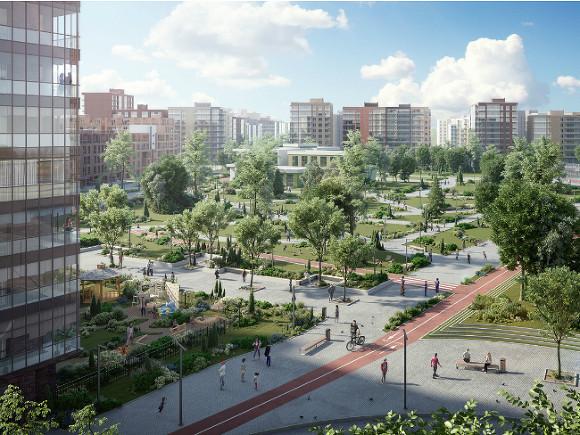 «Город в городе» появится в Санкт-Петербурге благодаря Glorax Андрея Биржина
