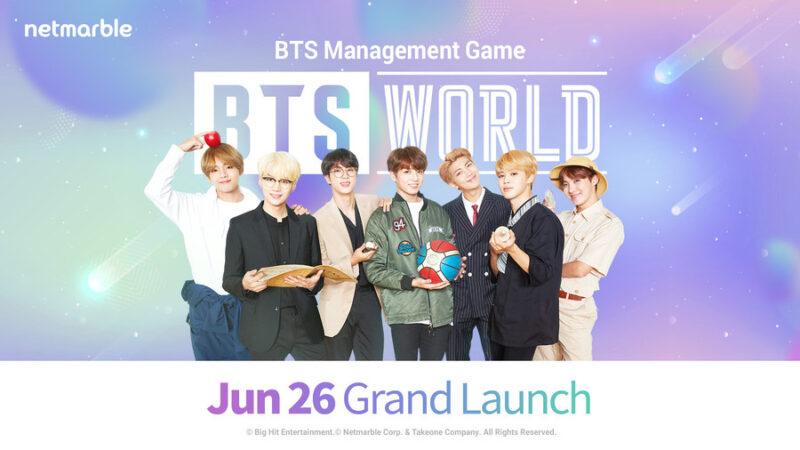 Netmarble: доступ к игре BTS WORLD откроется вечером 26 июня