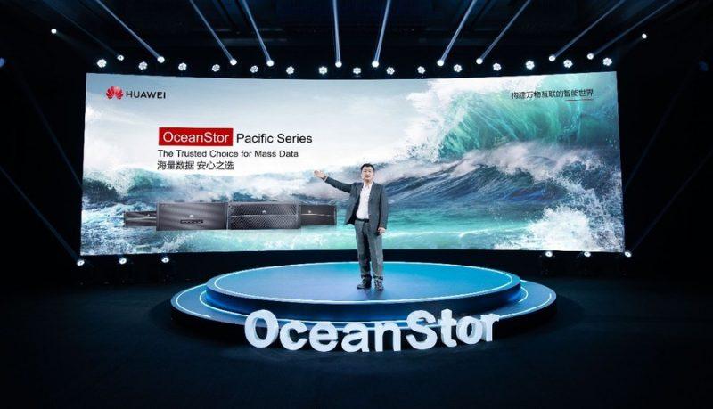 Новую линейку эффективных хранилищ OceanStor Pacific Series запустит Huawei