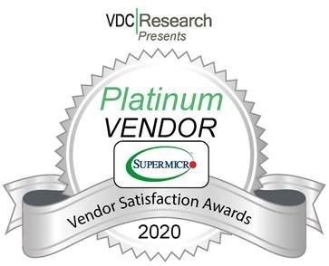 В исследовании VDC Research высокую оценку получили устройства Supermicro