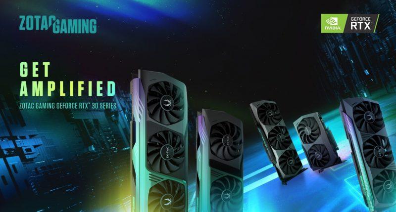 Анонсирована новая серия видеокарт ZOTAC GAMING GeForce RTX™ 30
