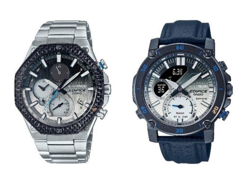 Новые модели наручных часов EQB-1100AT и ECB-20AT выпустит Casio