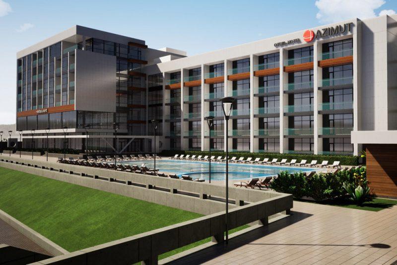 Цифровые услуги предоставил в Дагестане «Ростелеком» крупному гостиничному комплексу «AZIMUT Отель Каспийск»