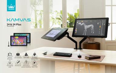 Huion объявляет о выпуске трех перьевых дисплеев размером 23,8″, включая Kamvas Pro 24(4K)